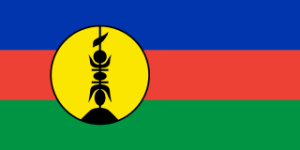 Second Official Flag of New Caledonia