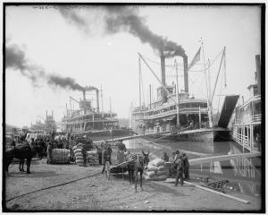 Steamboats in 1850
