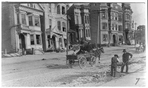 Street Sweepers after the Earthquake