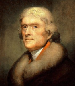 Peale Portrait of Thomas Jefferson