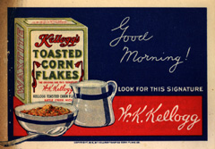 Corn Flakes Advertisement