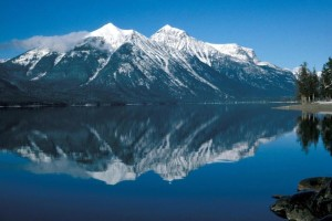 MacDonald Lake in Glacier Lake National Park