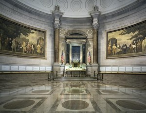 Charters of Freedom Hall, National Archives, Washington