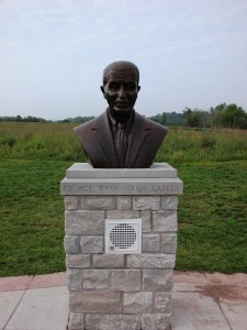 Bust of George Washington Carver at Memorial