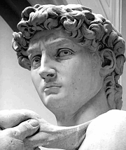 David by Michelangelo (detail)
