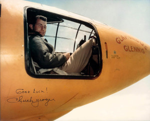 Chuck Yeager and Glamorous Glennis