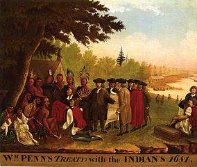Hicks Penns Treaty