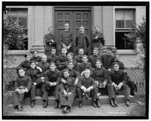 Naval Cadets Photographed between 1890 and 1901