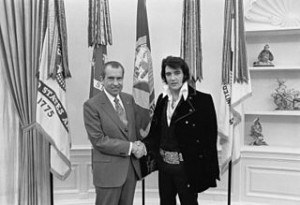 Elvis Presley Meets Richard Nxon