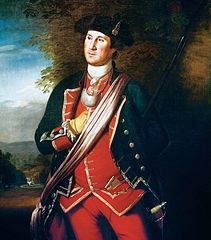 George Washington in British Uniform