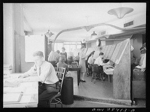 1943 Photo of Weather Service Office