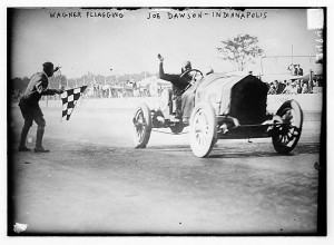 Early Indianapolis 500 Road Race