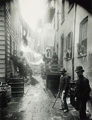 One Photo by Jacob Riis