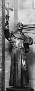 Statue of Junipero Serra in Capitol Building