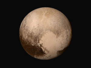 Pluto photographed by New Horizons