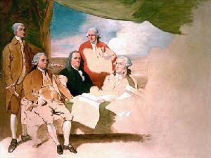 Treaty of Paris by Benjamin West