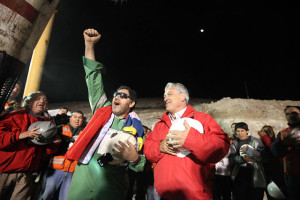 Copiapo Rescued and Rescuers Celebrate!