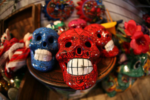 Day of the Dead Sculptures for the Ofrendas