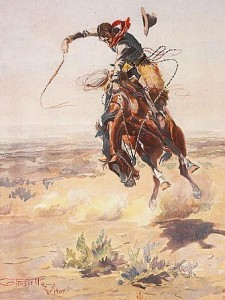 A Bad Hoss by Charles M. Russell