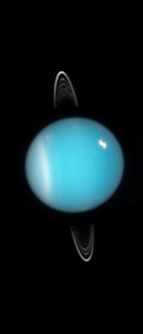 Uranus with Rings