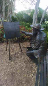 Claude Money Sculpture at Arboretum at Dallas